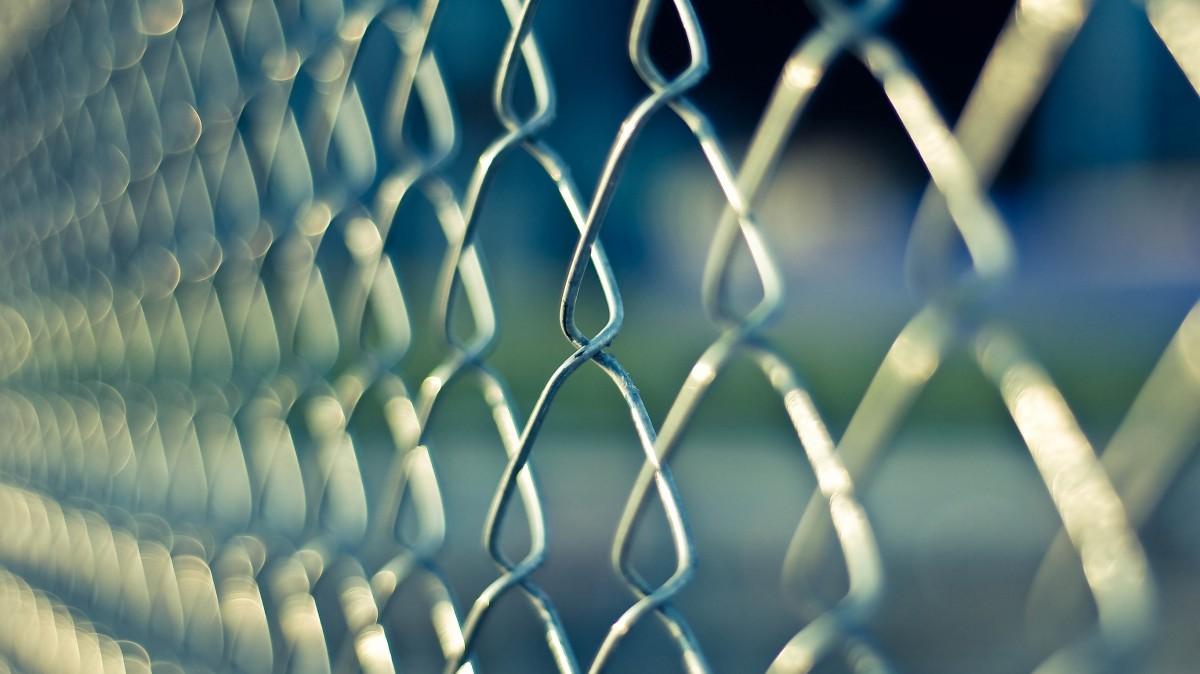 diamond wire fence