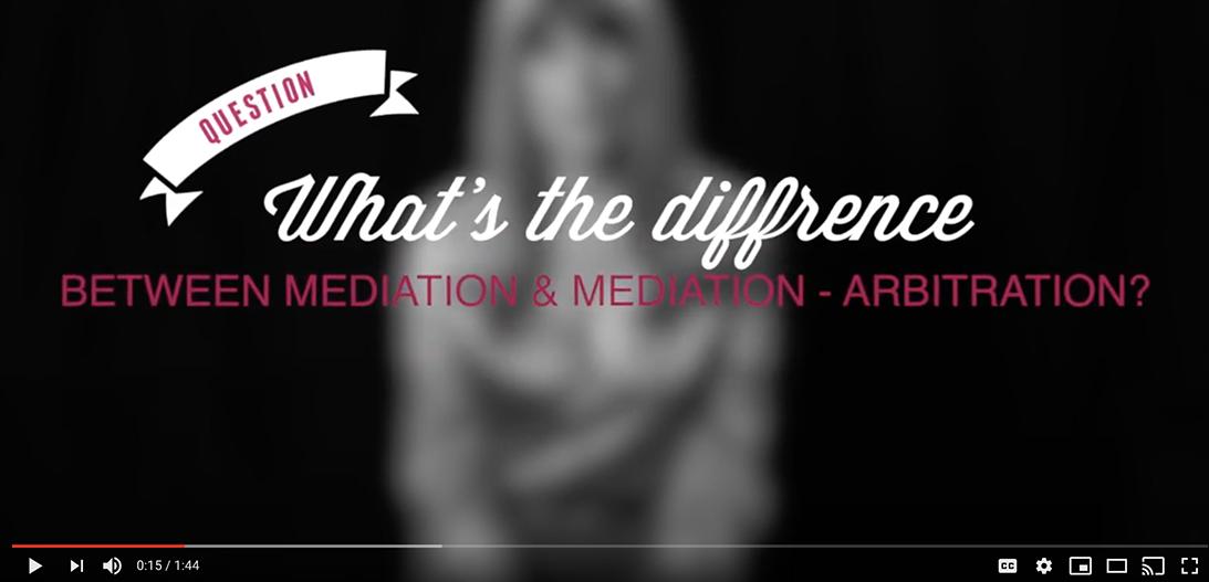 mediation vs med r