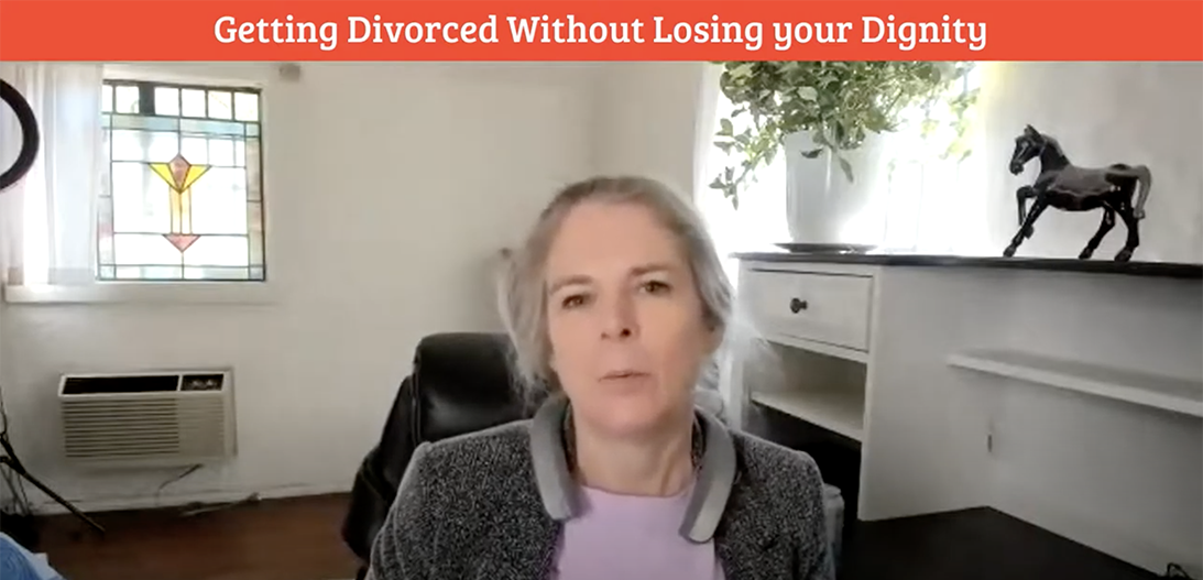 getting divorced without losing your dignity