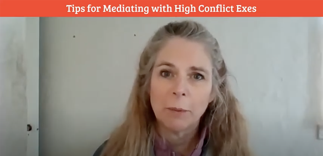 mediating with high-conflict exes