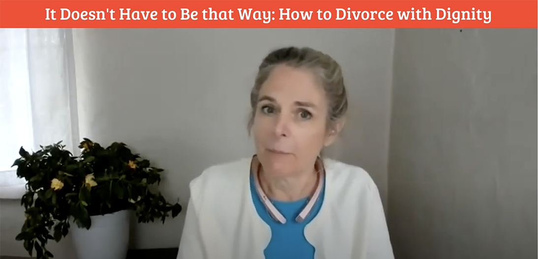 How to divorce with dignity