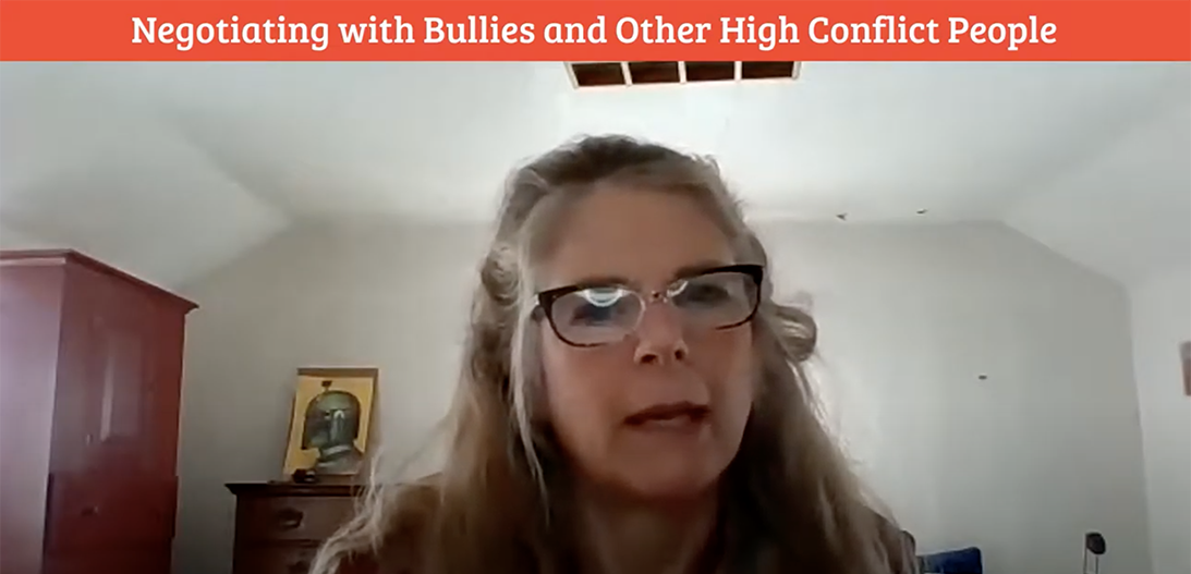 negotiating with bullies
