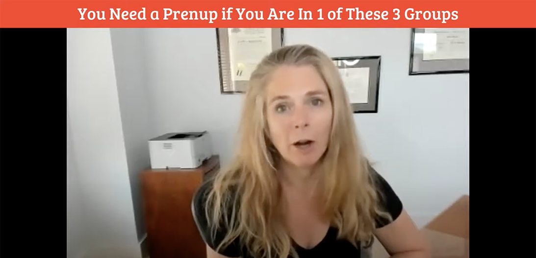 you need a prenup