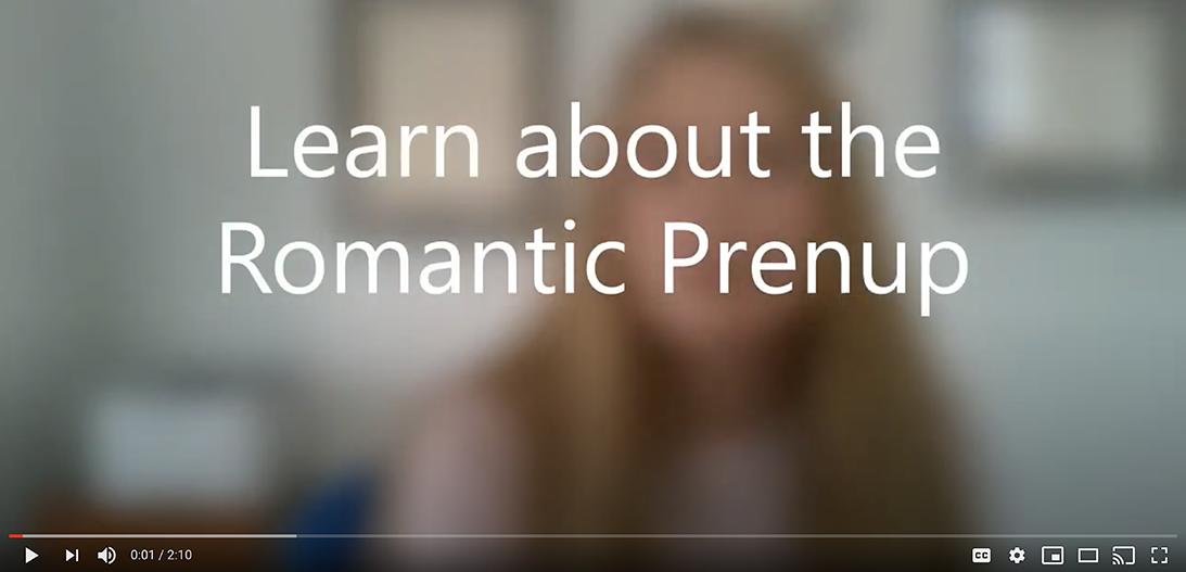 romantic prenup