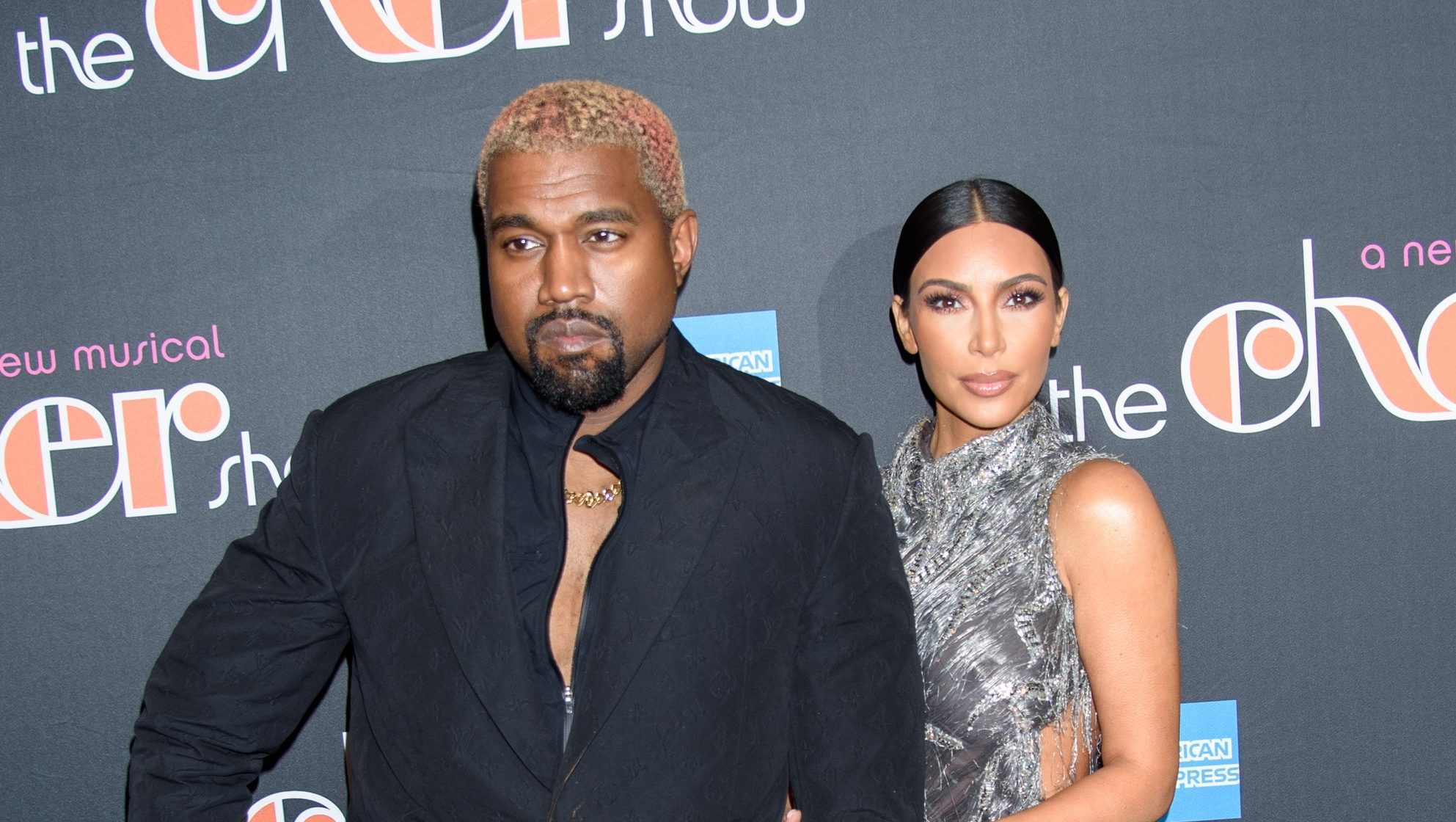 Kanye West, Kim Kardashian in attendance for THE CHER SHOW Opening Night on Broadway