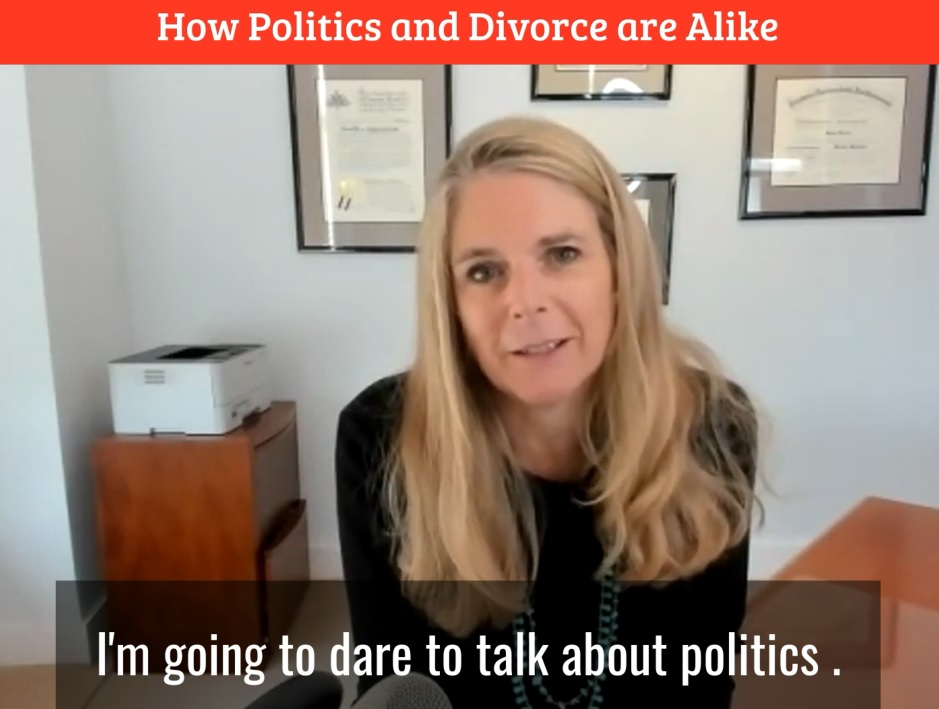 How Politics and Divorce are Alike