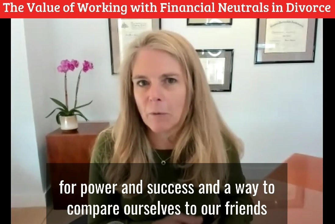 The value of the financial neutral