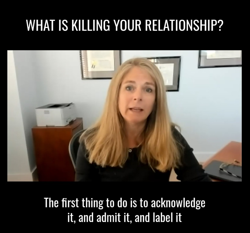 What is killing your relationship