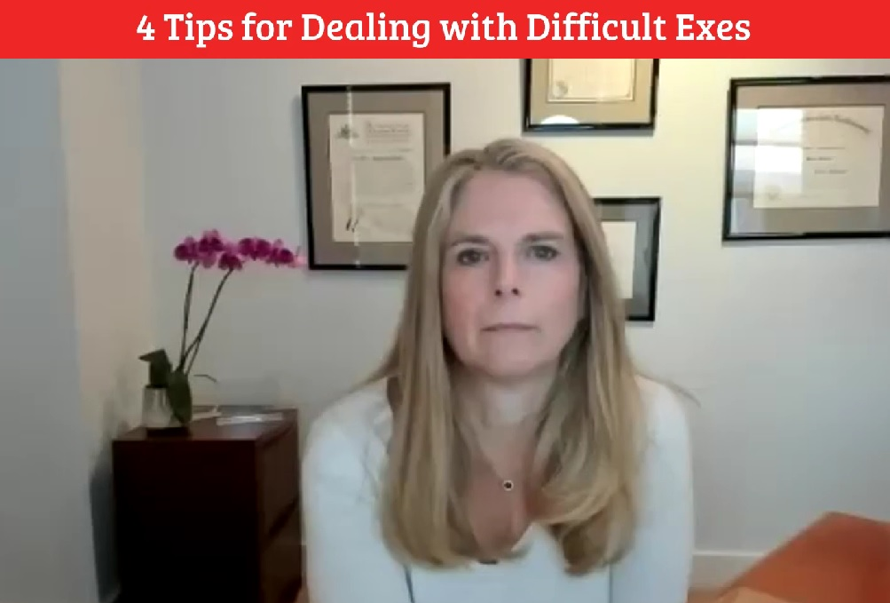 4 Tips for Dealing with Difficult Exes