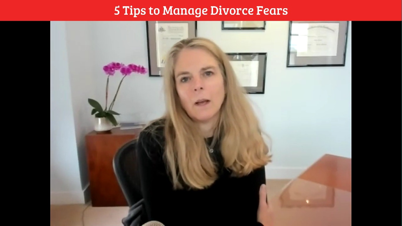 5 Tips to Manage Divorce Fears
