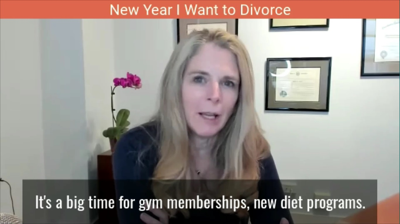 New Year I Want to Divorce