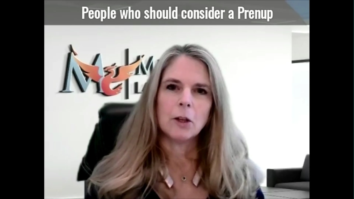 People who should consider a prenup