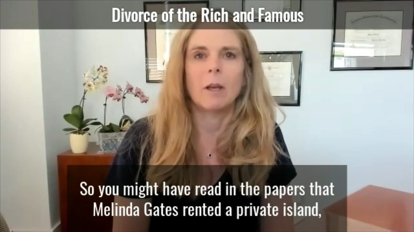 Divorce of The Rich and Famous