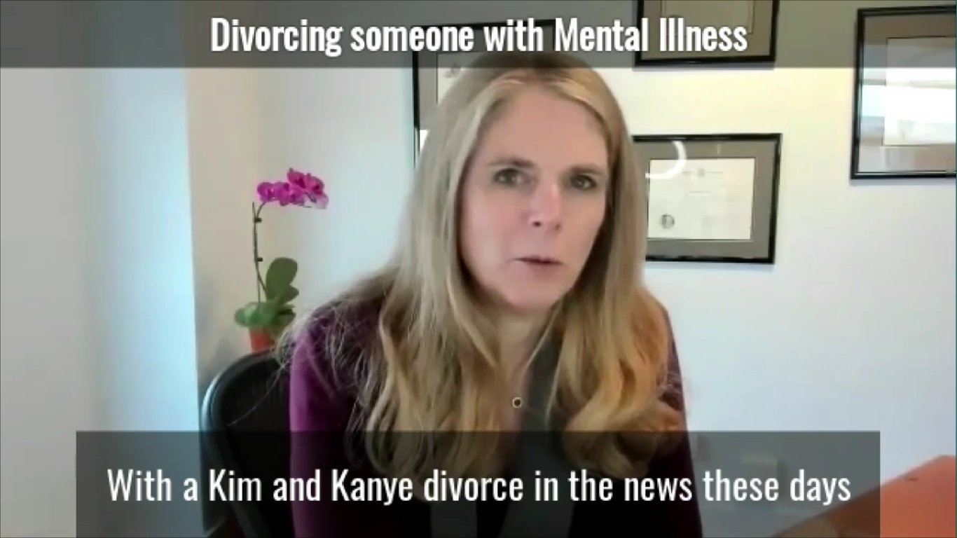Divorcing Someone With Mental Illness
