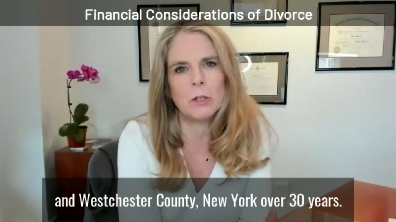 Financial Considerations of Divorce