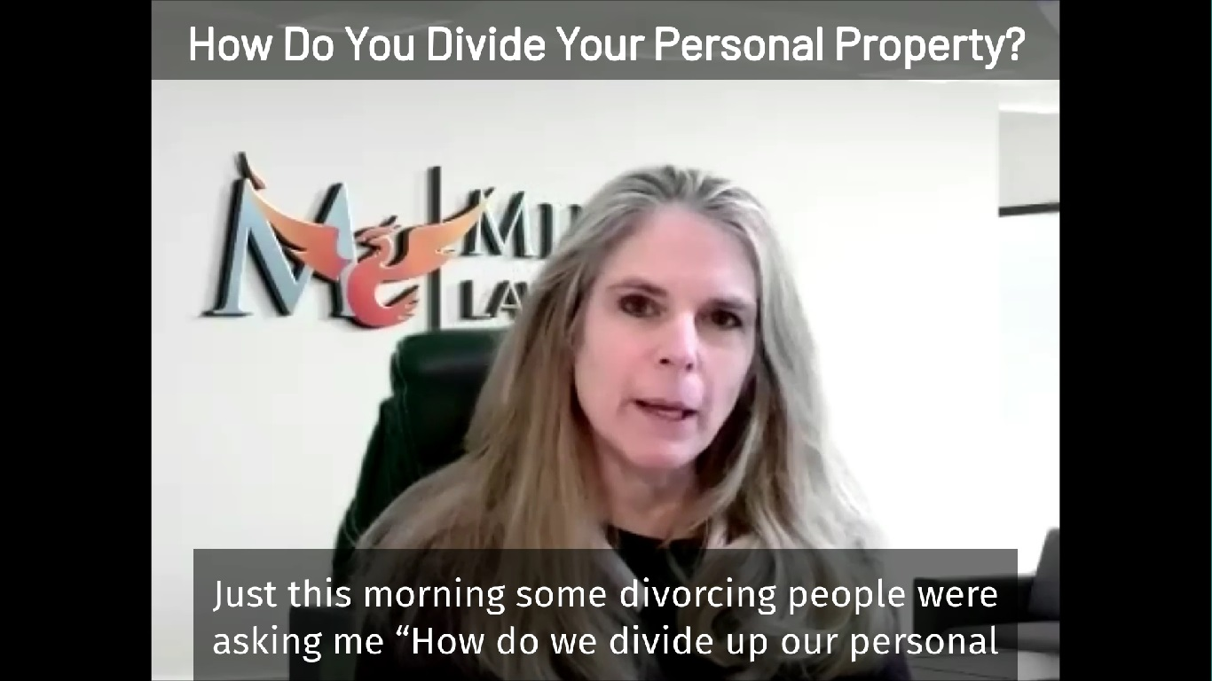How Do You Divide Personal Property