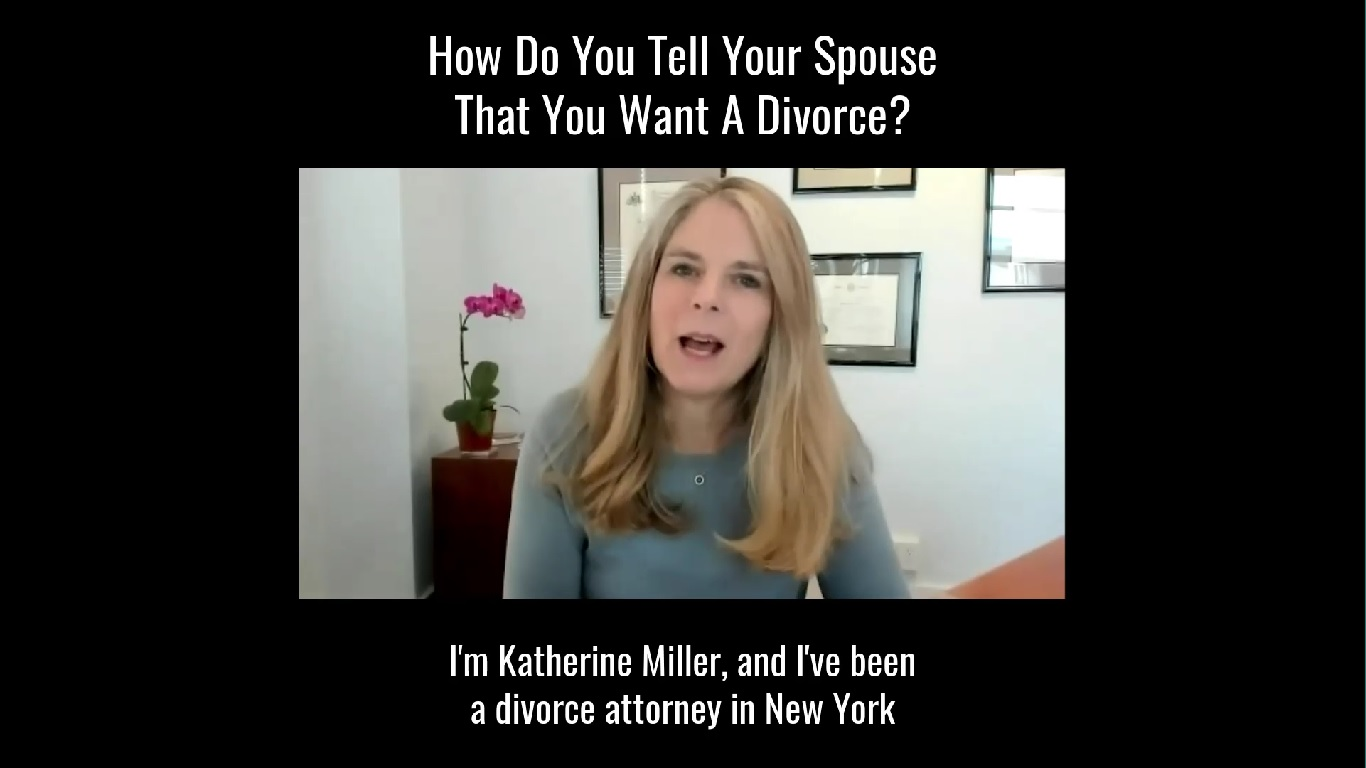 How Do You Tell Your Spouse You Want A Divorce