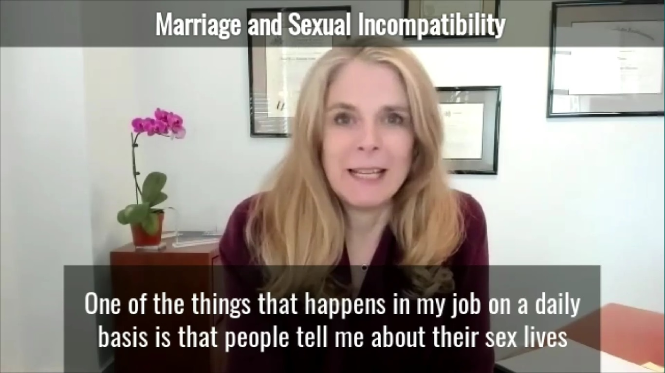 Marriage and Sexual Incompatibility