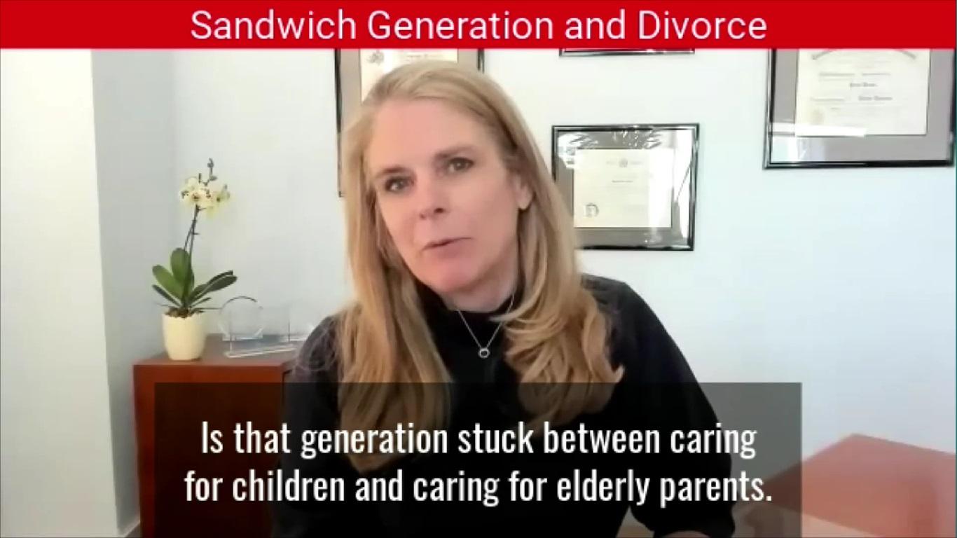 Sandwich Generation and Divorce